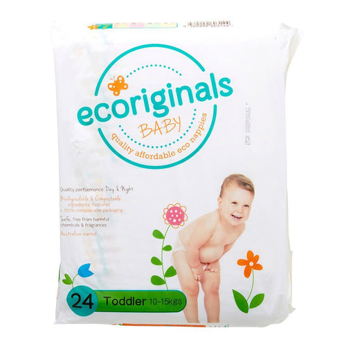 Ecoriginals Toddler Nappies (10-15Kg)