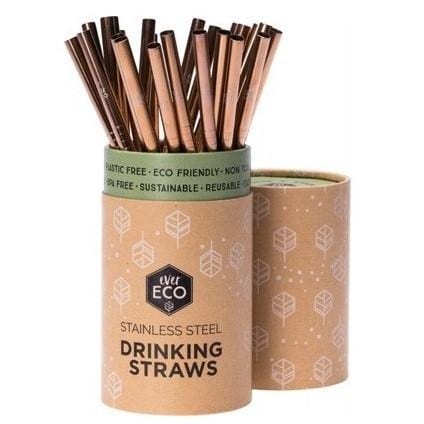 Ever Eco Straight Straw Rose Gold, Single