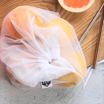 Ever Eco Recycled rPet Mesh Produce Bags - 4 Pack
