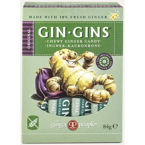 The Ginger People Gin Gins, Original Chewy Ginger Candy