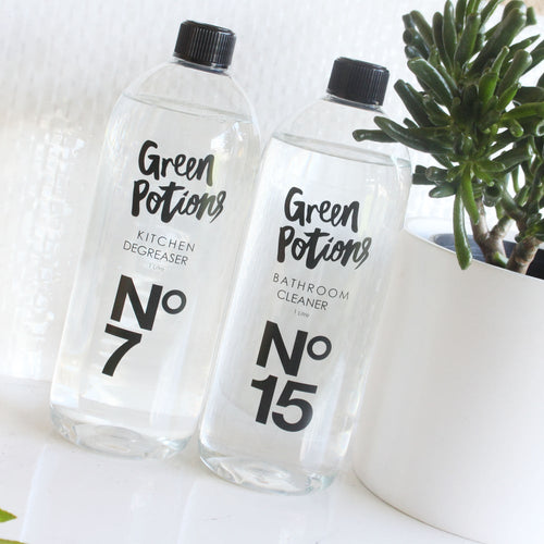 Green Potions No. 15, Bathroom Cleaner