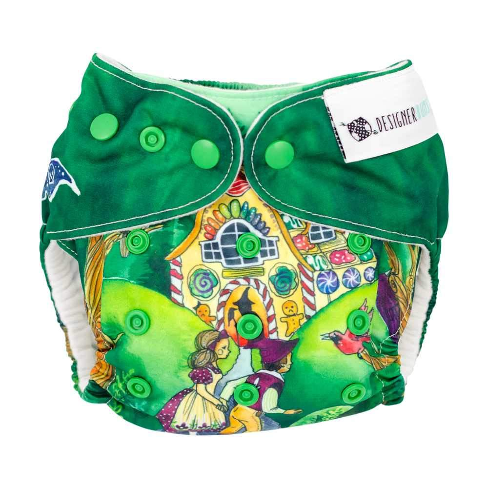 Designer Bums Art Pop AI2 Nappy, Hansel and Gretel