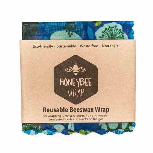 Honeybee Wraps Reusable Beeswax Wraps, Small