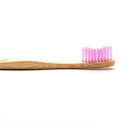 The Humble Co. Bamboo Toothbrush, Adult Soft Purple
