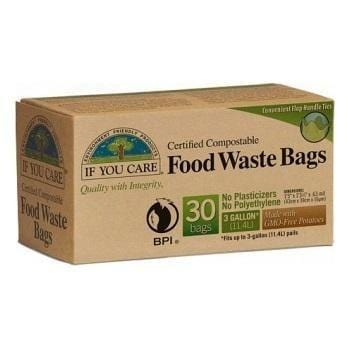 If You Care Compostable Food Waste Bags - The Clean Collective