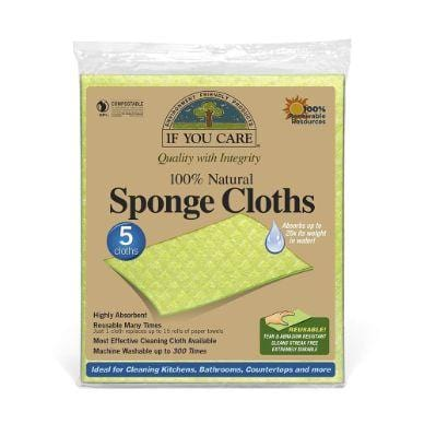 If You Care Natural Sponge Cloths - The Clean Collective