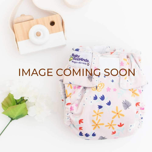 Baby Beehinds Double Pocket Wet Bag - Flutterby