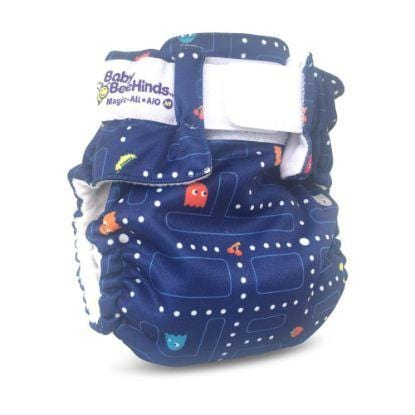 Baby Beehinds Magic-Alls AIO (All-In-One) Velcro - Chomp Chomp