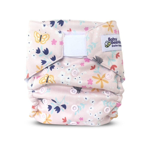 Baby Beehinds Swim Nappy - Flutterby