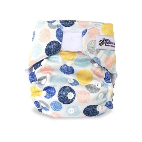 Baby Beehinds Swim Nappy - Marbles Mania