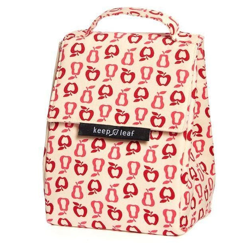 Keep Leaf Insulated Organic Lunch Bag, Fruit
