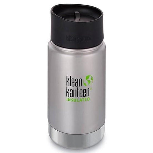 Klean Kanteen Insulated Coffee Mug 12oz, Brushed Stainless