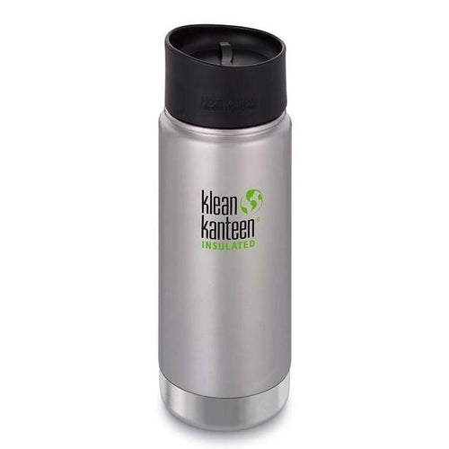 Klean Kanteen Insulated Coffee Mug 16oz, Brushed Stainless - The Clean Collective