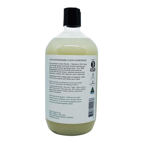 Koala Eco All Natural Dish Soap - Lemon Myrtle and Mandarin (1L Refill)