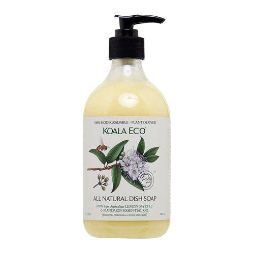Koala Eco All Natural Dish Soap - Lemon Myrtle and Mandarin (500ml)