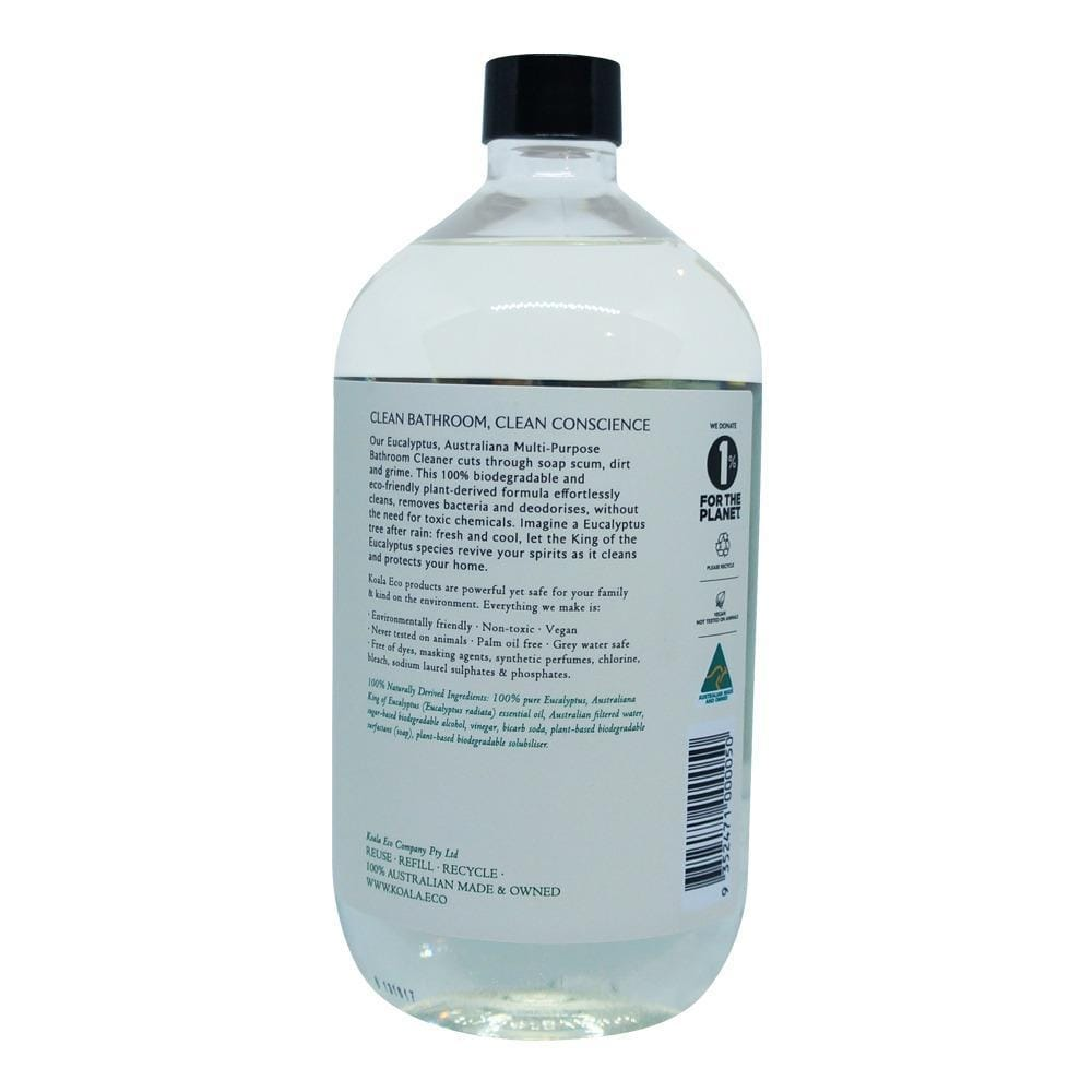Koala Eco All Natural Multi-Purpose Bathroom Cleaner - Eucalyptus (1L Refill)