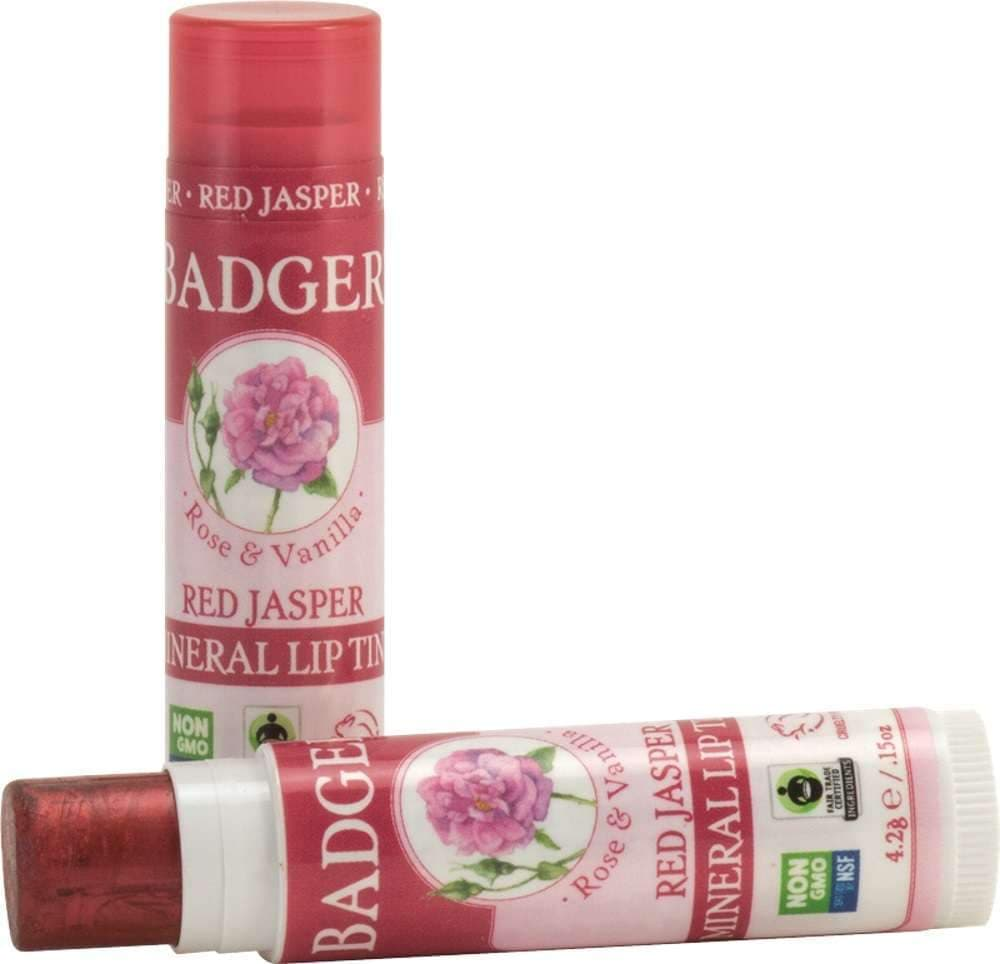 Badger Balm Lip Tint Stick, Red Jasper