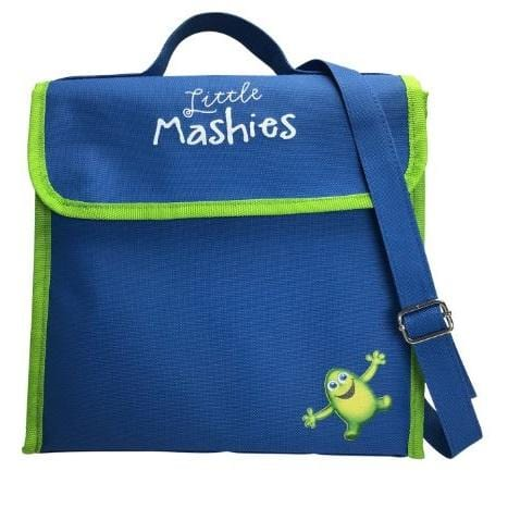 Little Mashies Lunchbox Cooler Bag, Blue