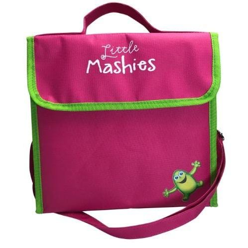 Little Mashies Lunchbox Cooler Bag, Pink