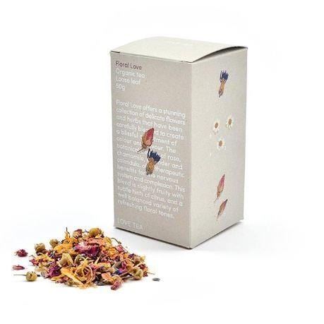 Love Tea Organic Floral Tea- The Clean Collective
