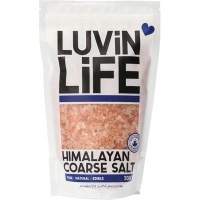 Luvin Life Himalayan Coarse Salt- The Clean Collective