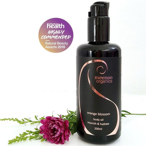 Meenoo Organics Orange Blossom Body Oil