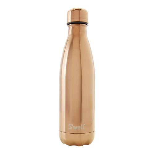 S'Well Water Bottle, Rose Gold - 500ml