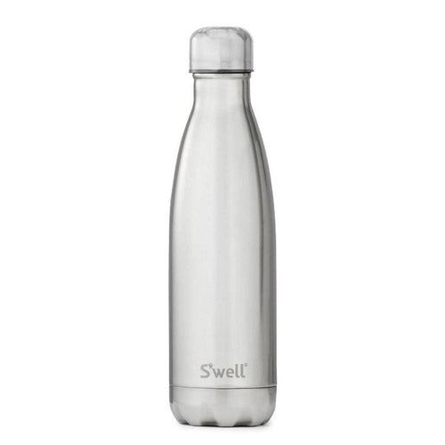 S'Well Water Bottle, White Gold - 500ml
