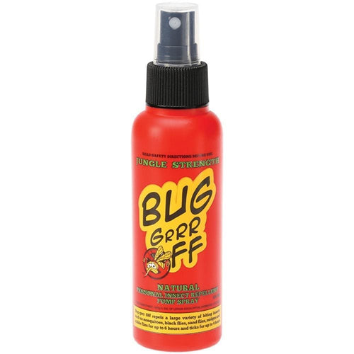 Bug-grrr Off Natural Insect Repellent, Jungle Strength Formula Spray