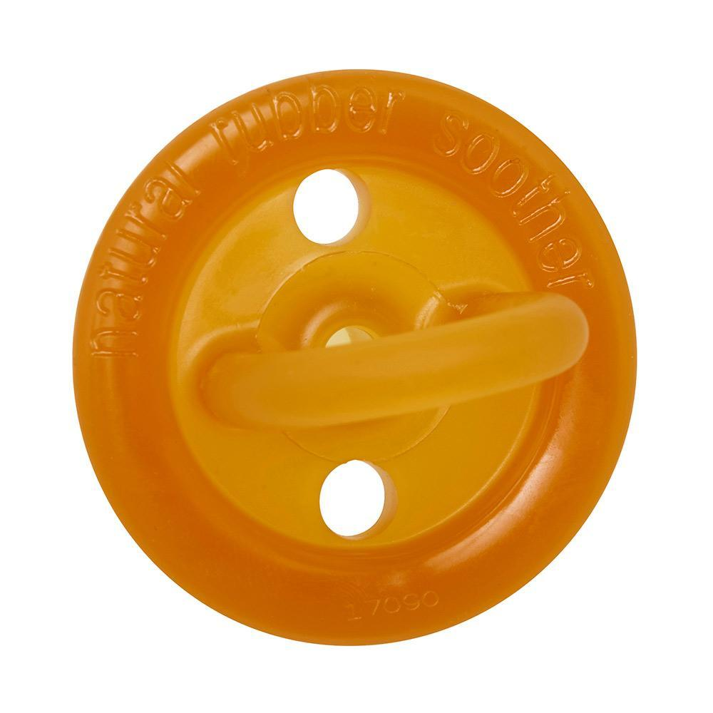 Natural Rubber Soother Round Twin Pack