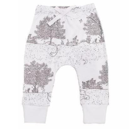 Niovi Organics Baby Pants, Spring Time Night Garden- The Clean Collective