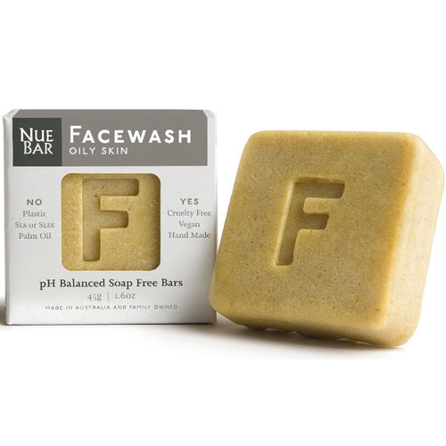 NueBar Facewash Bar, Oily Skin