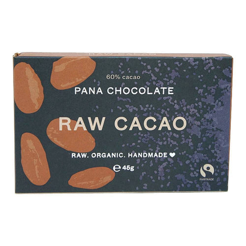 Pana Chocolate 60% Raw Cacao