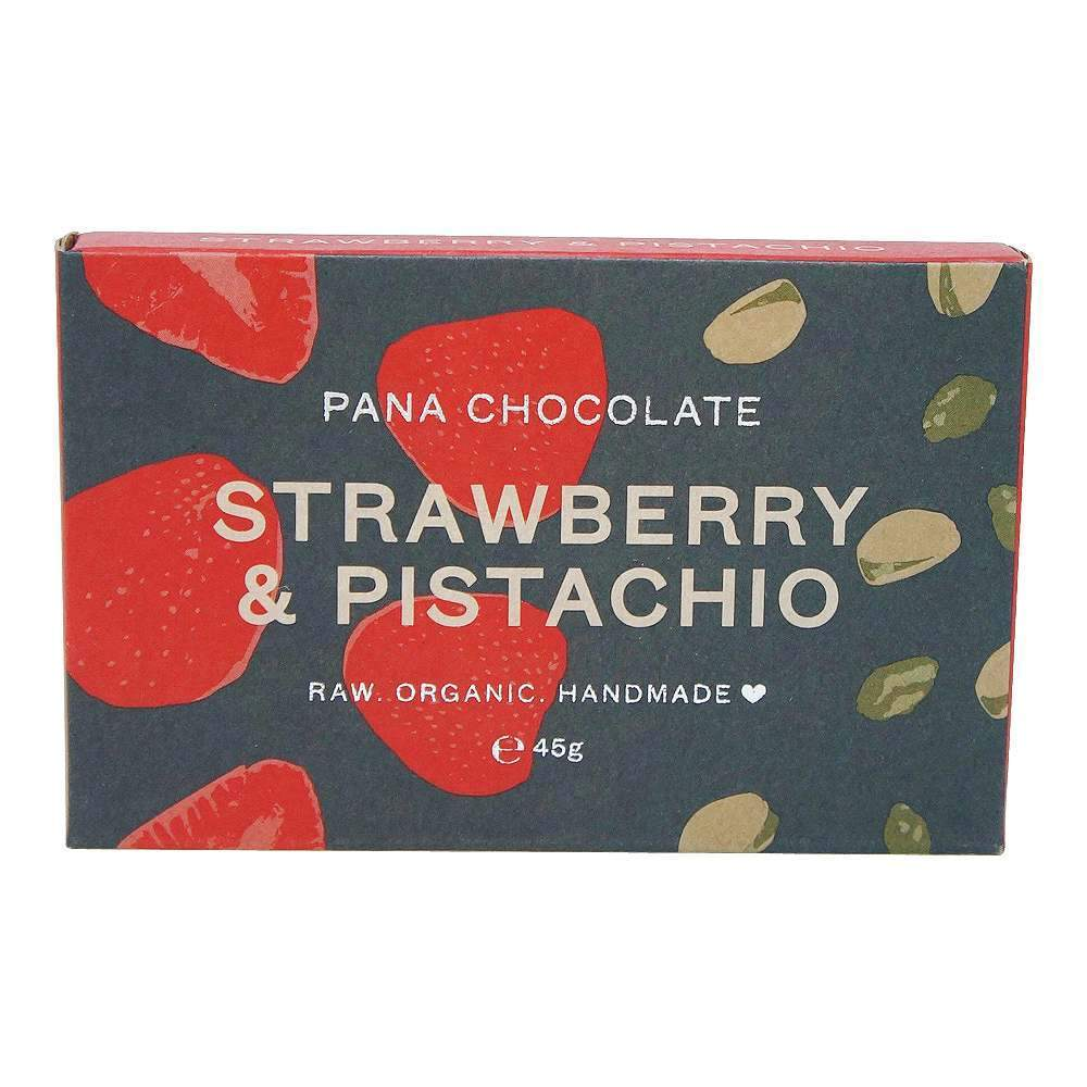 Pana Chocolate Strawberry & Pistachio