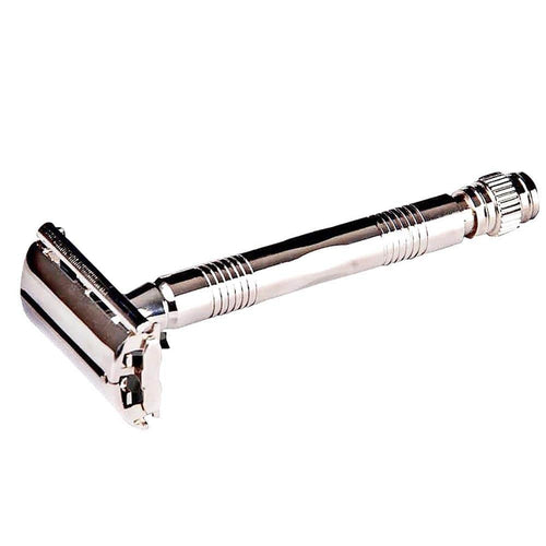 Parker Reusable Safety Razor 95R, Silver