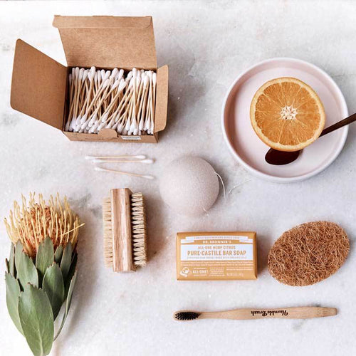 The Clean Collective Plastic-Free Bathroom Bundle