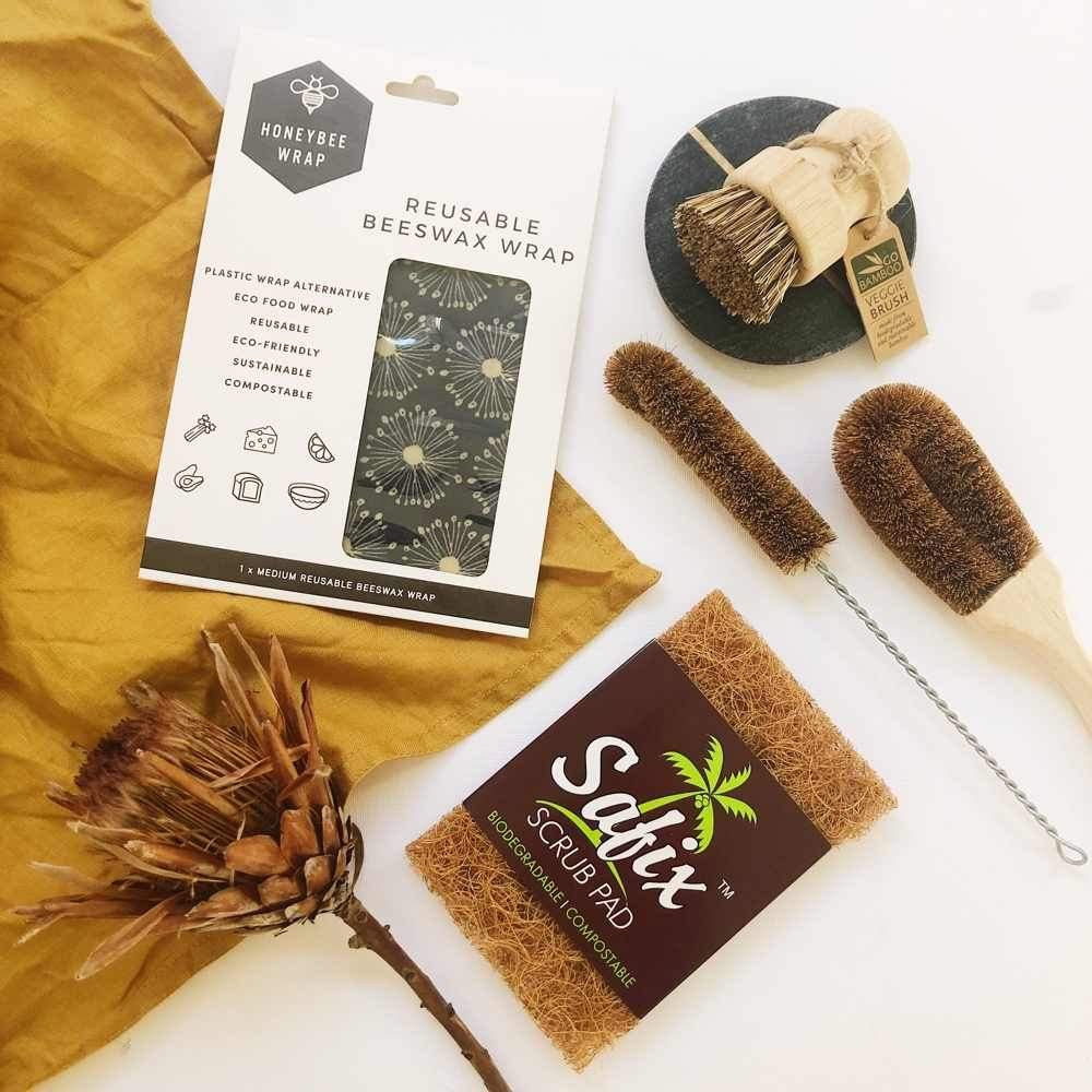 The Clean Collective Plastic-Free Kitchen Bundle 2.0