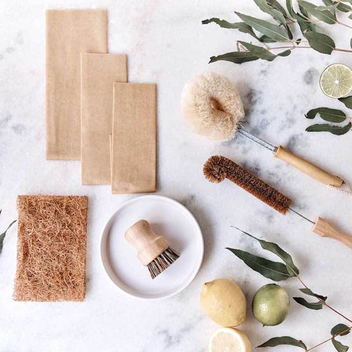 The Clean Collective Plastic-Free Kitchen Bundle
