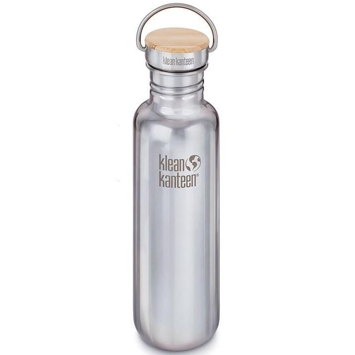 Klean Kanteen Bottle Reflect Stainless Bamboo Cap 800ml