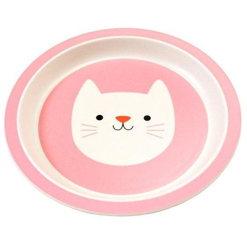 Rex London Bamboo Plate, Cat - The Clean Collective