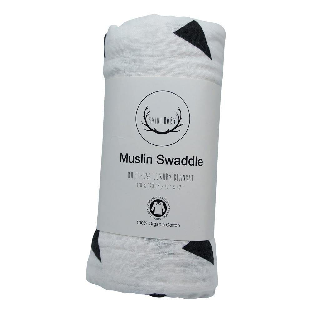 Saint Baby Organic Swaddle Blanket - Triangle