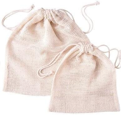 Save Planet A Organic Cotton Produce Bags, 6 pack