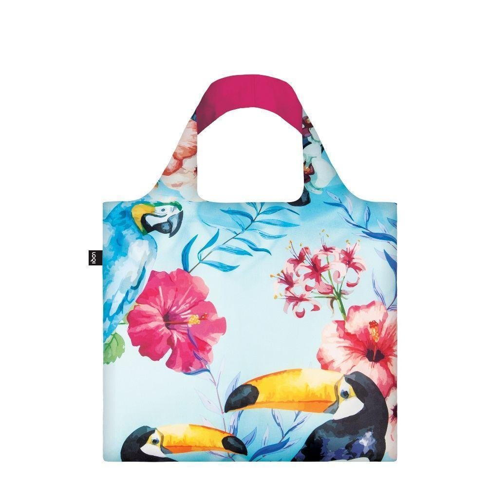 LOQI Shopping Bag, Wild Birds