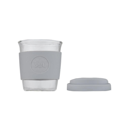 SoL Reusable Coffee Cup, Cool Grey