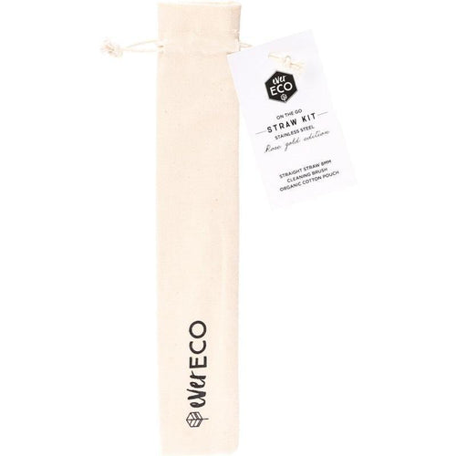 Ever Eco On-The-Go Straw & Cleaner, Rose Gold - 1 Pack