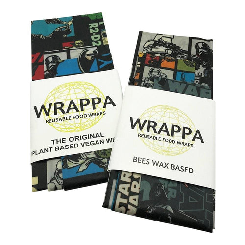 Wrappa Beeswax/Vegan Wraps, Star Wars - 3 pack