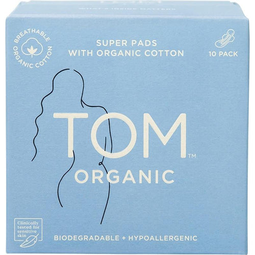 TOM Organic Super Ultra Thin Pads (wings)