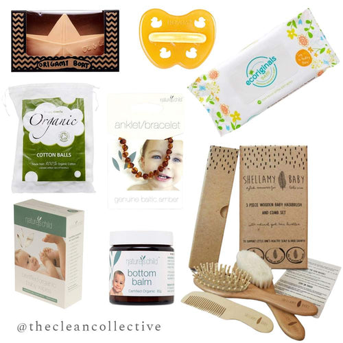 The Clean Collective Eco Baby Shower Bundle