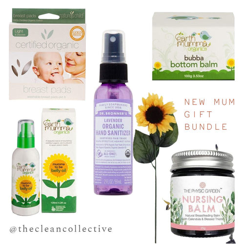 The Clean Collective New Mum Gift Pack