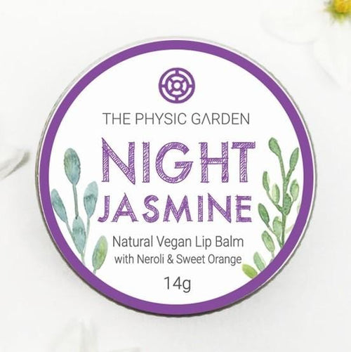 The Physic Garden Lip Balm, Night Jasmine